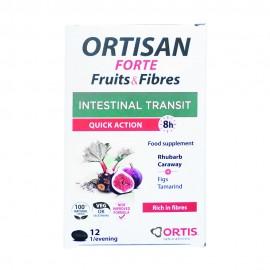 Ortis Ortisan Forte Fruits & Fibers 12 Tabs