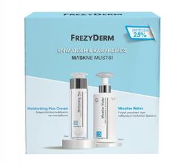 Frezyderm Set Moisturizing Plus Cream 50ml & Micellar Water 200ml