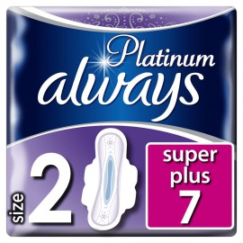 Always Platinum Ultra Super Plus Size2 7τμχ