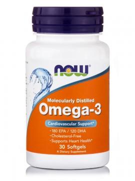 Now Foods Omega-3 1000mg 30 Softgels