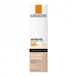La Roche Posay Anthelios Mineral One Daily Cream SPF50+ Αντηλιακή Ενυδατική Κρέμα Προσώπου Με Χρώμα Light 01 30ml
