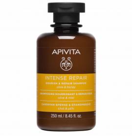 Apivita Σαμπουάν Θρέψης & Επανόρθωσης Ελιά & Μέλι 250ml