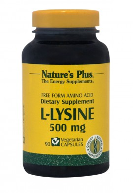 NATURES PLUS  L-Lysine 500mg 90vcaps