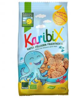 Bohlsener Karibix Βιολογικά Μπισκότα Bρώμης με φρούτα 150gr