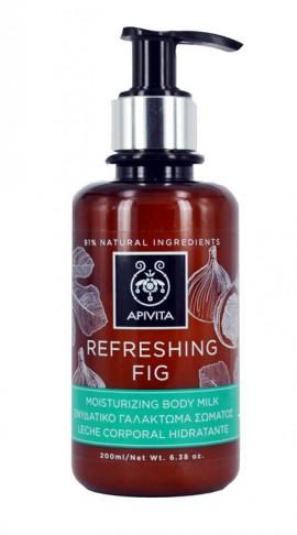 Apivita Refreshing Fig Ενυδατικό Γαλάκτωμα Σώματος με Αιθέρια Έλαια 200ml