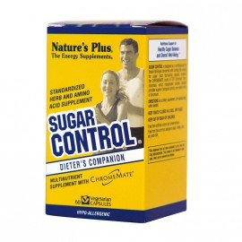 Natures Plus Sugar Control Καταπολέμηση της Βουλιμίας για Γλυκά. 60 Vcaps