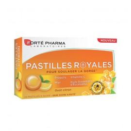 Forte Pharma Pastiles Royales με Πρόπολη για τον Πονόλαιμο με Γεύση Λεμόνι 24τμχ