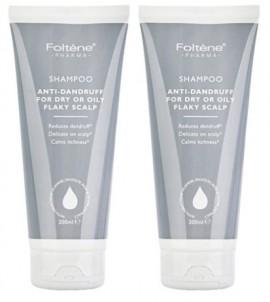 Foltene Shampoo Antidandruff Oily Flaky Scalp Σαμπουάν Κατά της Πιτυρίδας Λιπαρή και Ξηρή 200ml 1+1 Δώρο