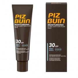 Piz Buin Moisturising Ultra Light Sun Fluid Face SPF30 Αντηλιακή Κρέμα Υψηλής Προστασίας 50ml