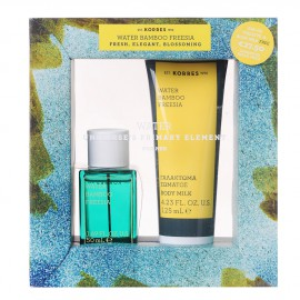 Korres Set Water Bamboo Freesia Eau de Toilette 50ml + Korres Water Bamboo Freesia Body Milk 125ml