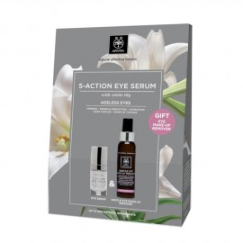 APIVITA Set 5-Action Eye Serum 15ml + Gentle Eye Make-Up Remover 100ml