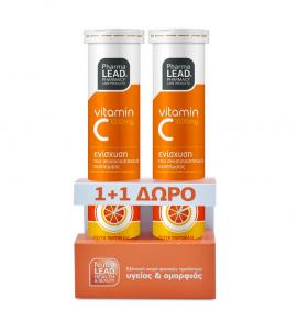 Pharmalead Vitamin C 1000mg 20eff.tabs 1+1 ΔΩΡΟ