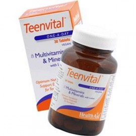 HEALTH AID TEENVITAL TABLETS 30S (AGES 12-16)