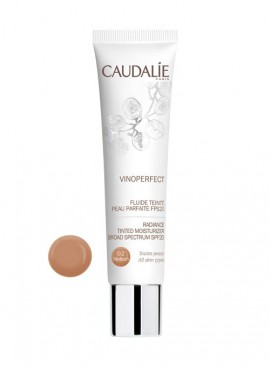 CAUDALIE VINOPERFECT Radiance Tinted Moisturizer Broad Spectrum SPF20 02-Medium 40ml