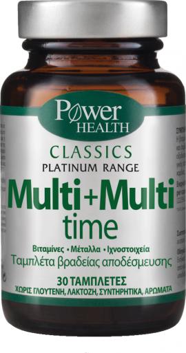 Power Health Cassics Platinum MULTI+MULTI TIME 30s Tabs