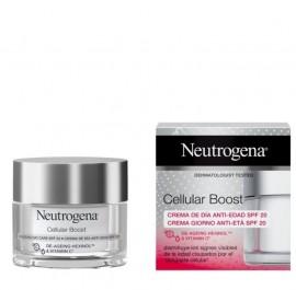 Neutrogena Cellular Boost De-Ageing Day Care SPF20 Αντιγηραντική Κρέμα Ημέρας Προσώπου 50ml