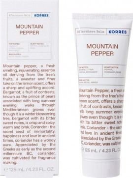 Korres – Γαλάκτωμα Mountain Pepper Aftershave Balm με Ευεργετικά Φυσικά Συστατικά 125ml