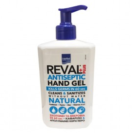 Intermed Reval Plus Natural Antiseptic Hand Gel - αντισηπτικά χεριών Kill Germs in 60 sec 500ml