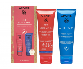 Apivita Set Bee Sun Safe Hydra Fresh Face & Body Milk SPF50 100ml + After Sun Cool & Sooth Face & Body Gel-Cream 100ml