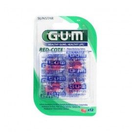 GUM 824 RED-COTE 12tabs
