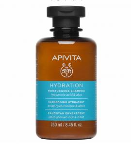 Apivita Σαμπουάν Ενυδάτωσης Υαλουρονικό Οξύ & Αλόη 250ml