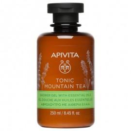 APIVITA TONIC MOUNTAIN TEA Αφρόλουτρο με αιθέρια έλαια 250ml