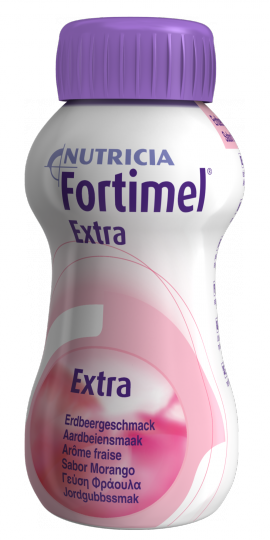 NUTRICIA FORTIMEL EXTRA ΦΡΑΟΥΛΑ 4 X 200ML
