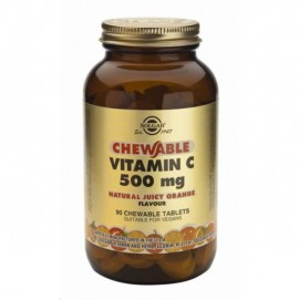 SOLGAR VITAMIN C 500MG CHEWABLE ΠΟΡΤΟΚΑΛΙ 90TAB