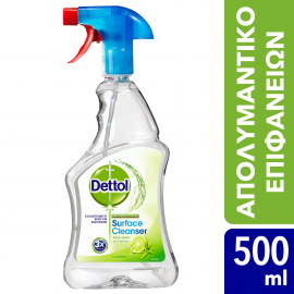Dettol Spray Surface Cleanser Lime & Mint 500ml