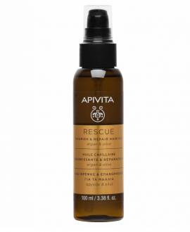 Apivita Rescue Hair Oil με Αργκάν & Ελιά 100ml