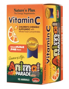 NATURES PLUS Animal Parade Vitamin C 90tabs