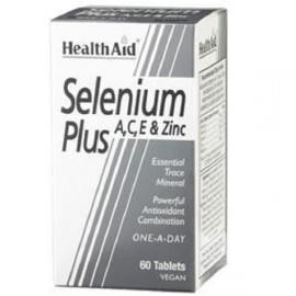 HEALTH AID SELENIUM PLUS (VITAMINS A, C, E & ZINC) TABLETS 60S