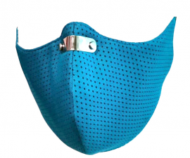 RespiShield Μάσκα γενικής προστασίας ΡΜ2.5 - PM10 Medium Γαλάζια 1τμχ