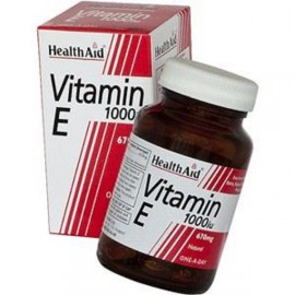 HEALTH AID VITAMIN E 1000IU NATURAL CAPSULES 30S