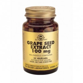 SOLGAR GRAPE SEED EXTRACT 100MG 30VCAP