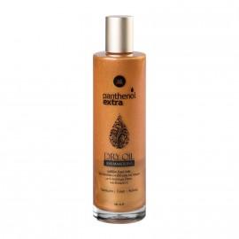 Medisei Panthenol Extra Shimmering Dry Oil Ιριδίζον Ξηρό Λάδι για Πρόσωπο - Σώμα - Μαλλιά 100ml