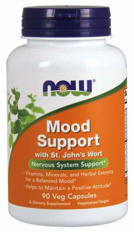 Now Foods Mood Support With St JohnS Wort, 90 Veget.caps