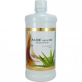 Medichrom Aloe Vera Gel Plus Vitamin D με Γεύση Ροδάκινο 1Kg