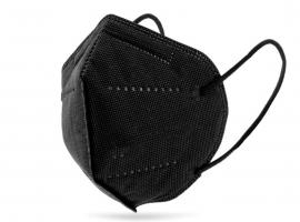 Μάσκα Υψηλής Προστασίας FFP2 ΚΝ95 Μαύρη 20τμχ