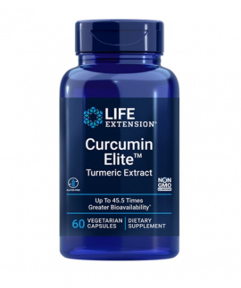 Life Extension Curcumin Elite Turmeric Extract 60 Caps