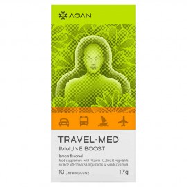 Agan Travel-Med Immyne Boost 10 chewing gums