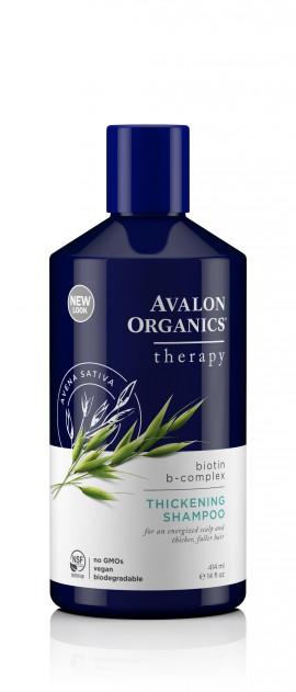 Avalon Organics Βιοτίνη B-Complex Shampoo 414ml