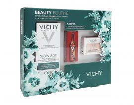 Vichy Set Slow Age Fluid SPF25 50ml + Δώρο Vichy Double Glow Peel Mask 15ml + Δώρο Liftactiv Glyco-c 2ml