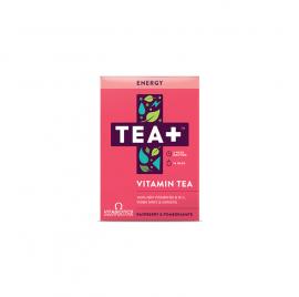 Vitabiotics TEA+ Energy Vitamin Tea με γεύση Raspberry & Ρόδι 14τμχ