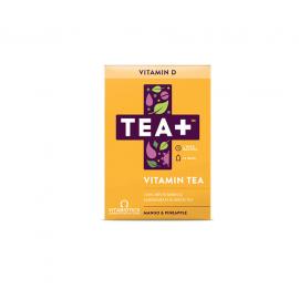 Vitabiotics TEA+ Vitamin D Tea με Γεύση Μάνγκο & Ανανά 14τμχ