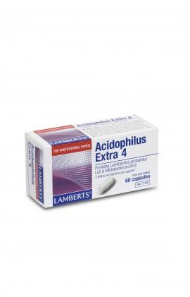 LAMBERTS ACIDOPHILUS EXTRA 4 60CAPS