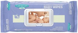 Lansinoh Clean & Condition Baby Wipes Μωρομάντηλα 80τμχ