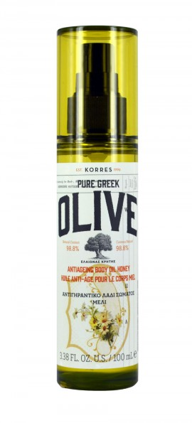 KORRES Pure Greek Olive Αντιγηραντικό Λάδι Σώματος Μέλι 100ml