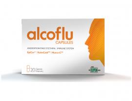Alcoflu Capsules Συμπλήρωμα Διατροφής για την Ενίσχυση του Ανοσοποιητικού Συστήματος 20caps