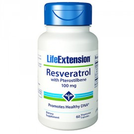 Life Extension Resveratrol With Pterostilbene, 60 Καψουλες